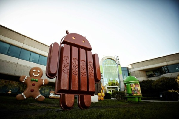 Android KitKat header