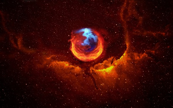 Mozilla firefox header space