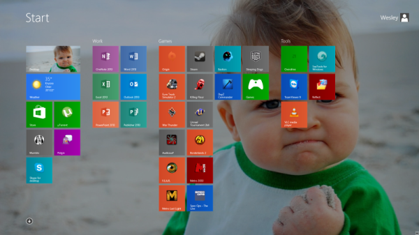 Windows 8 success kid header