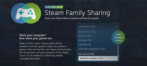 Steam family sharing header large