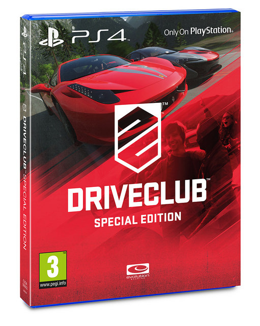 Driveclub special edition box