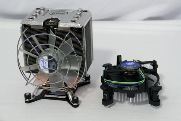 Intel Gulftown stock cooler