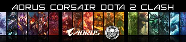 NGL AORUS Corsair Dota 2 Clash final qualifier > NAG
