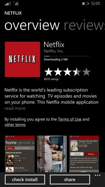 Netflix on Windows Phone (1)