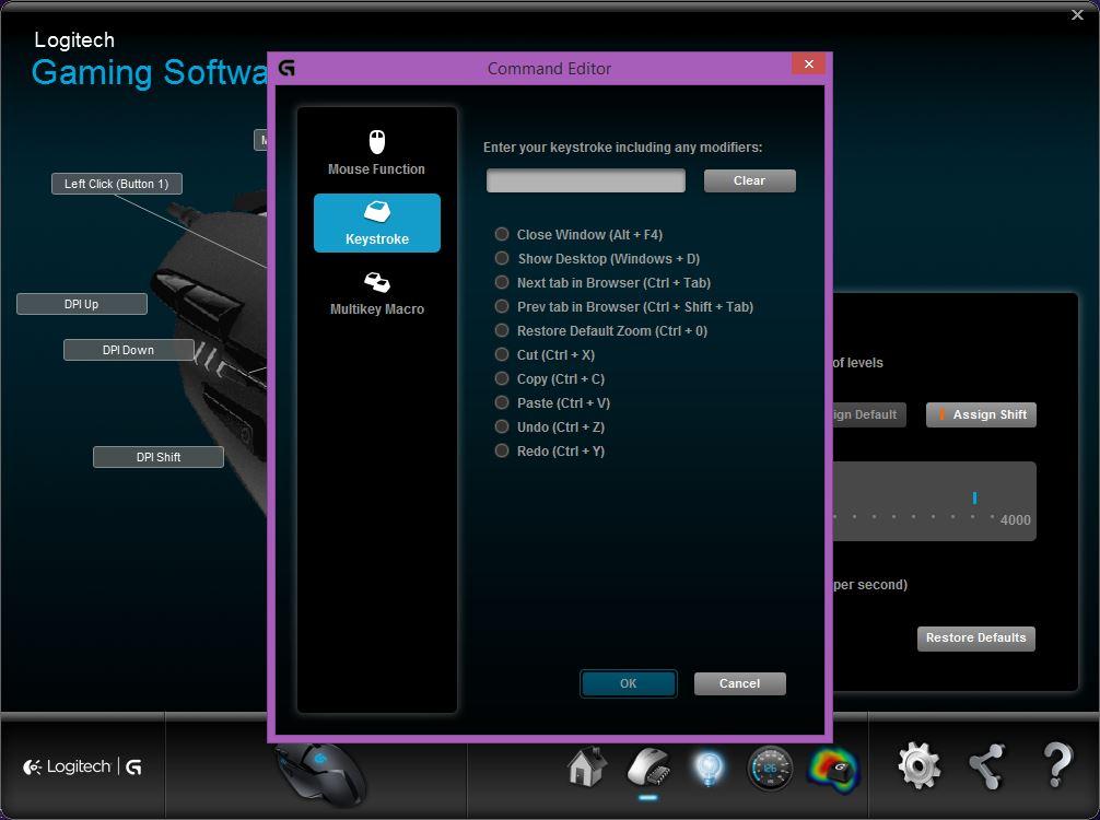 logitech gaming software download g402