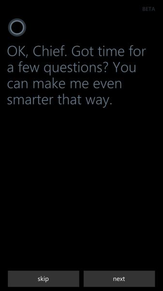 Windows Phone Cortana personal assisstant (3)