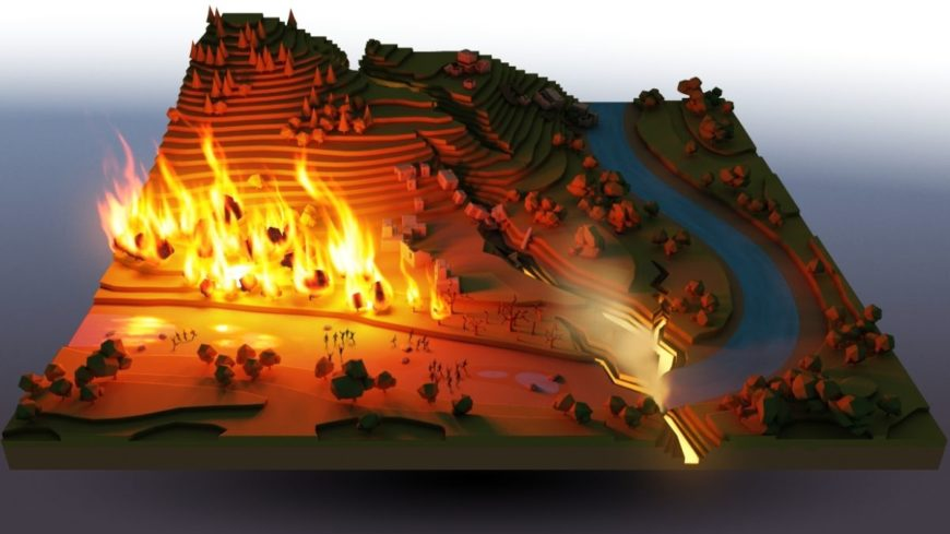 This fire in Godus is a good metaphor for what people did with their money when they bought it.