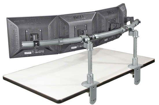 monitor mount clamp