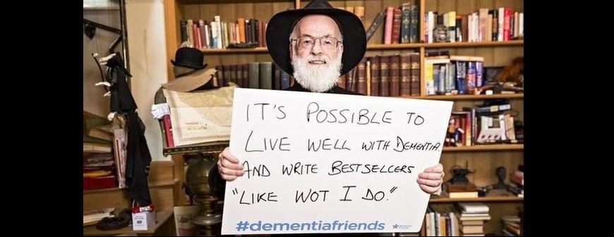 Terry Pratchett placard