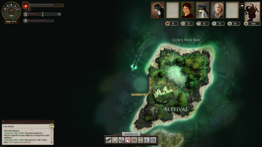 Sunless Sea screenshot 2