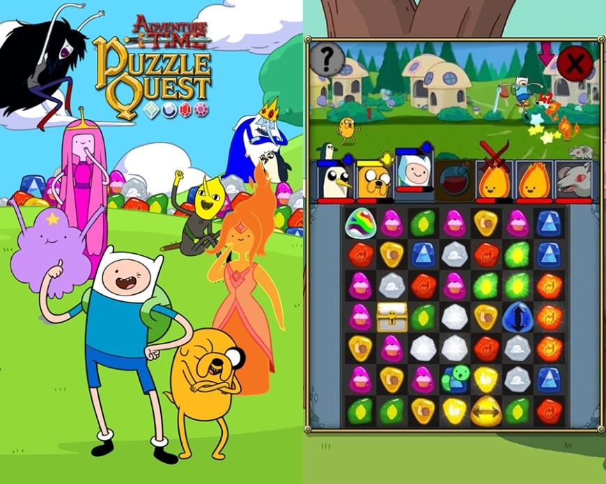 adventure_time_puzzle_quest