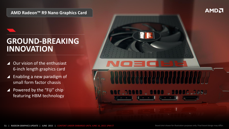 AMD Radeon R-300 series launch and Fury product overview > NAG