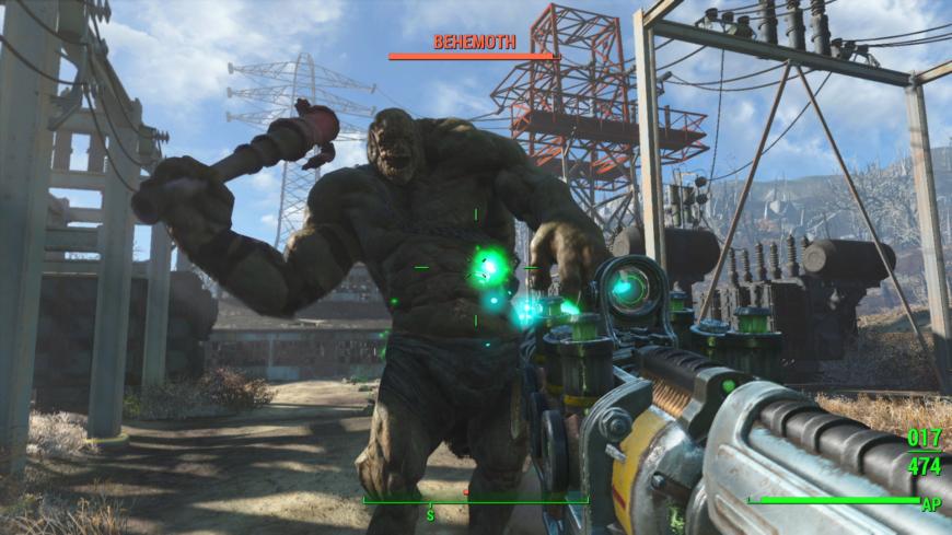 Fallout 4 gunplay