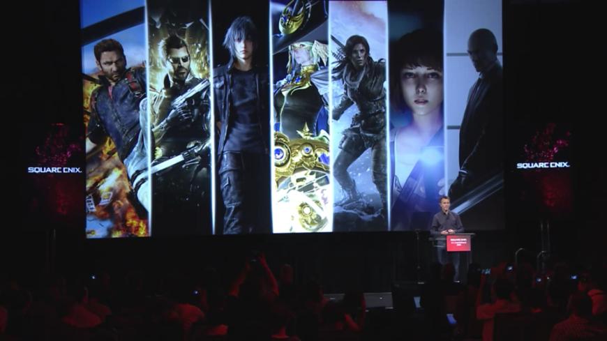 Square Enix cover