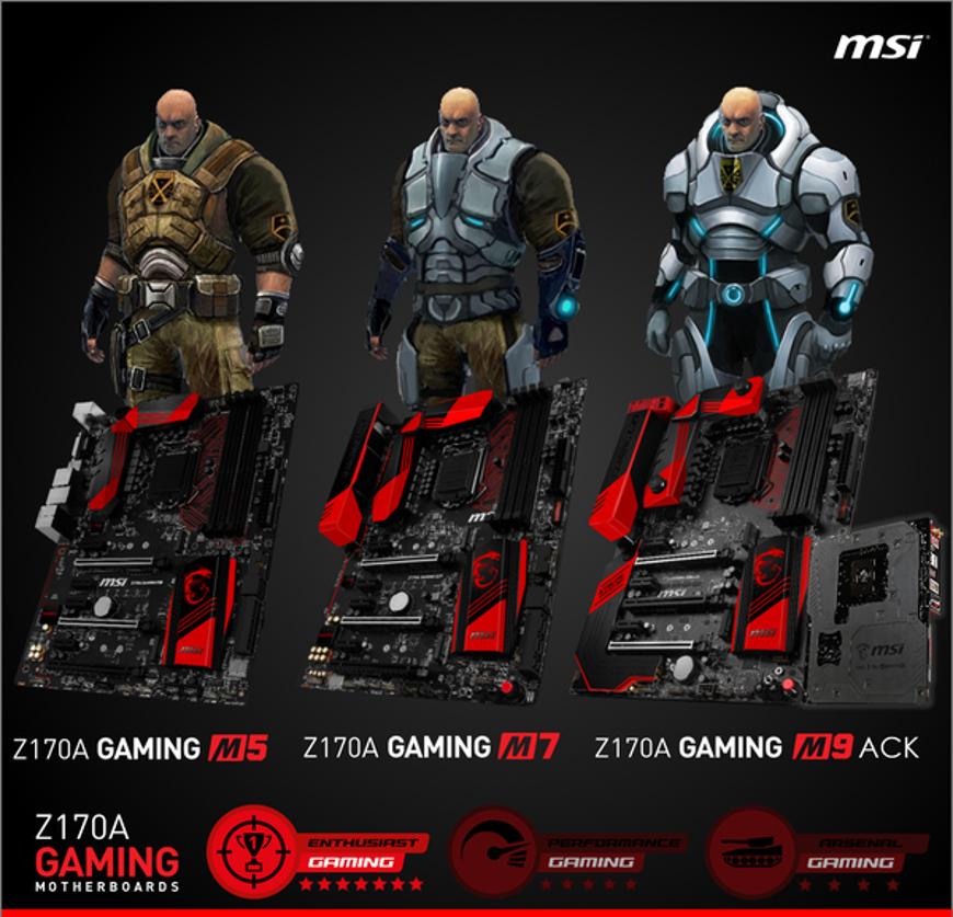 MSI Z170A updates (1)