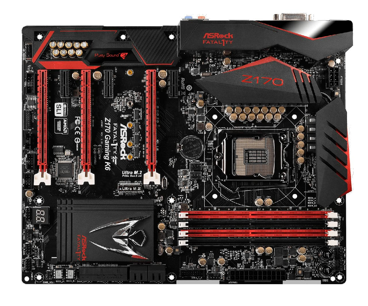 ASROCK FATAL1TY Z170 GAMING K6+ INTEL ME WINDOWS VISTA DRIVER
