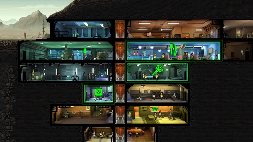Fallout Shelter Antfarm view (2)
