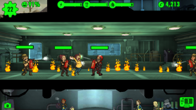 Fallout Shelter Panicking