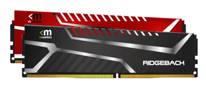 Mushkin's new DDR4 Ridgeback memory.