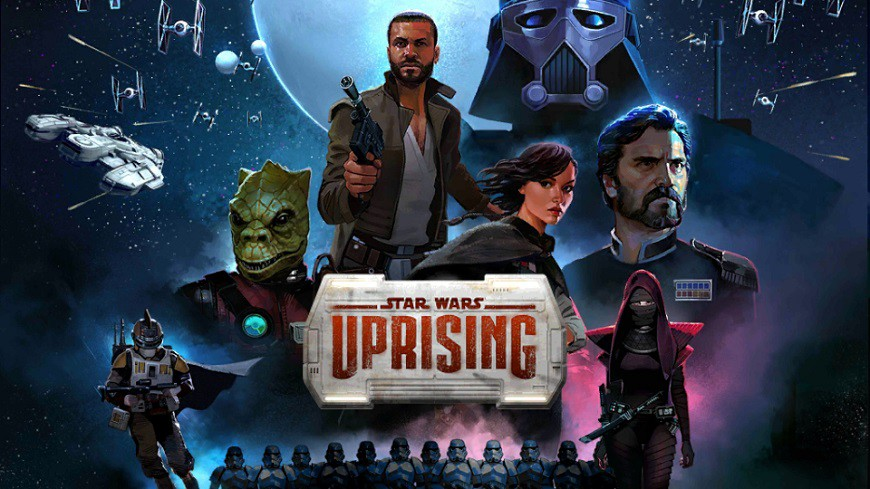 Star Wars Uprising Cover