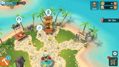 Minions Paradise overworld