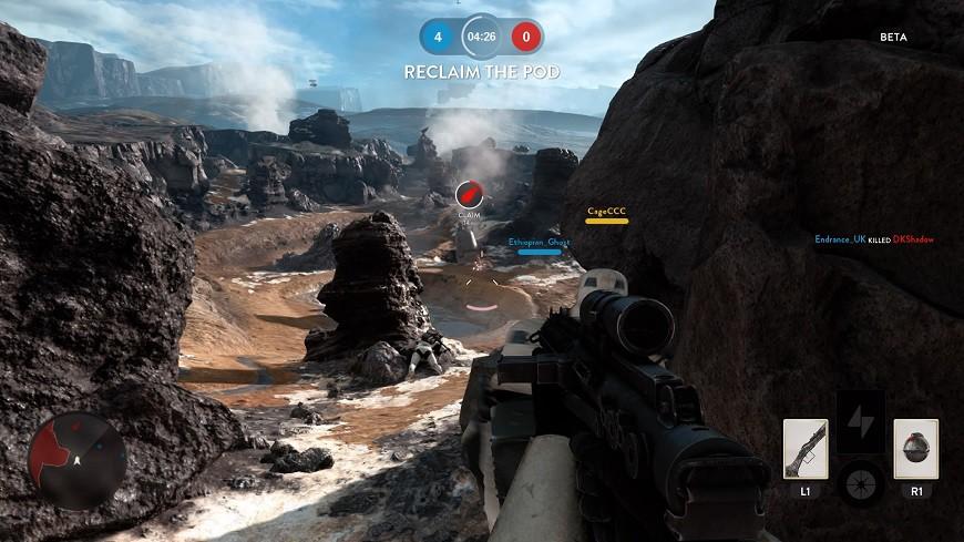 Star Wars Battlefront Drop Zone