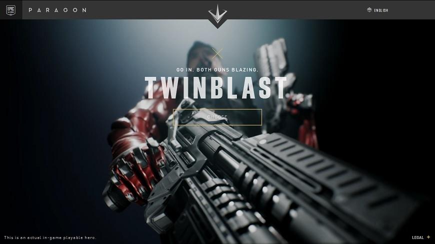 Paragon Twinblast cover