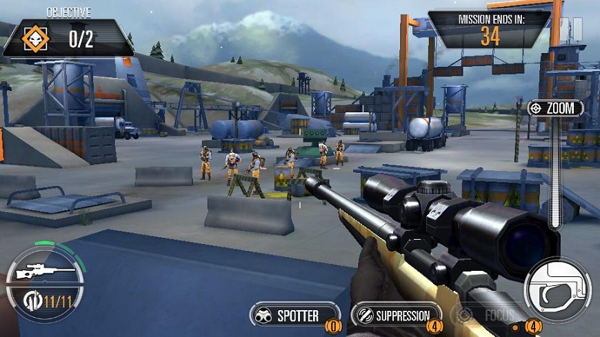 Sniper X Sniping Screenshot