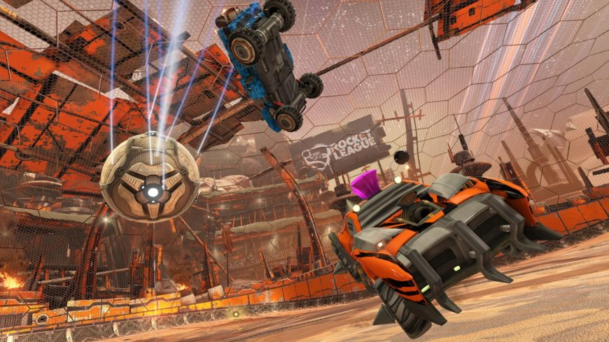 Rocket League on PS4 joins the cross-platform cuddle party