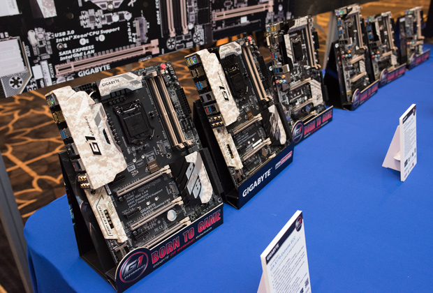 gigabyte X-series motherboards CES 2016