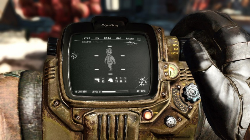 Fallout Texture Overhaul PipBoy