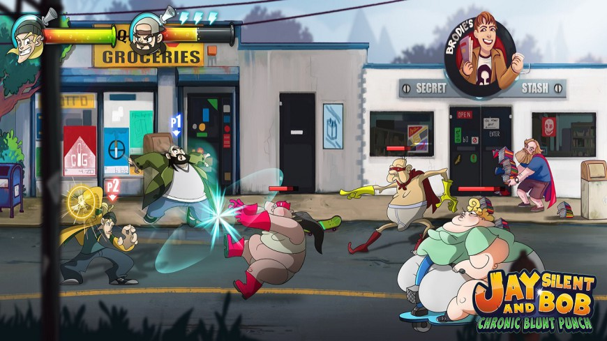 Jay and Silent Bob Chronic Blunt Punch 1