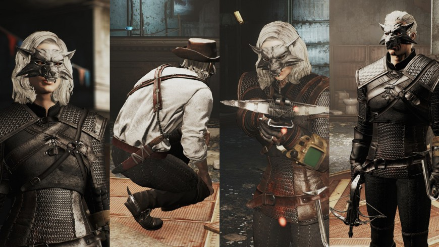 The Witcher outfits and stuff 1