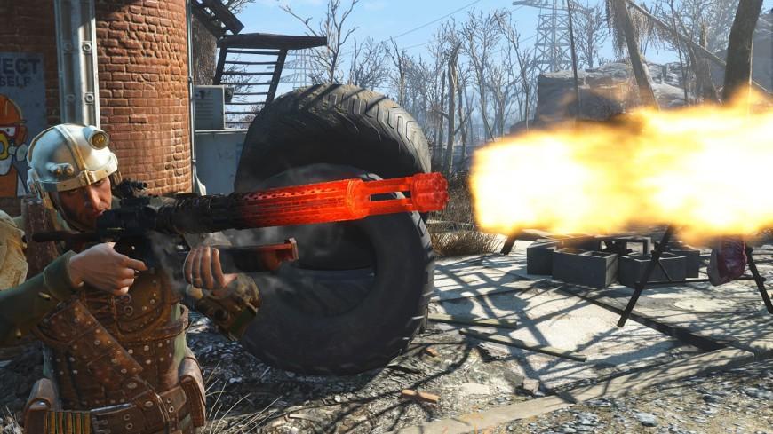 Gatling Rifle