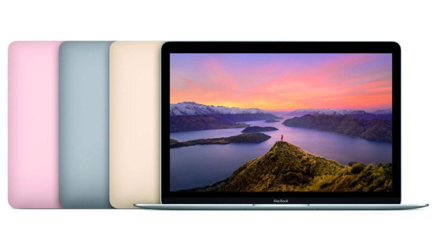 Apple Macbook Skylake Core M 2016