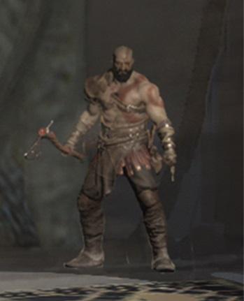 GOW 4 Kratos