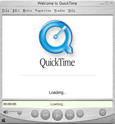 quicktime UI Windows