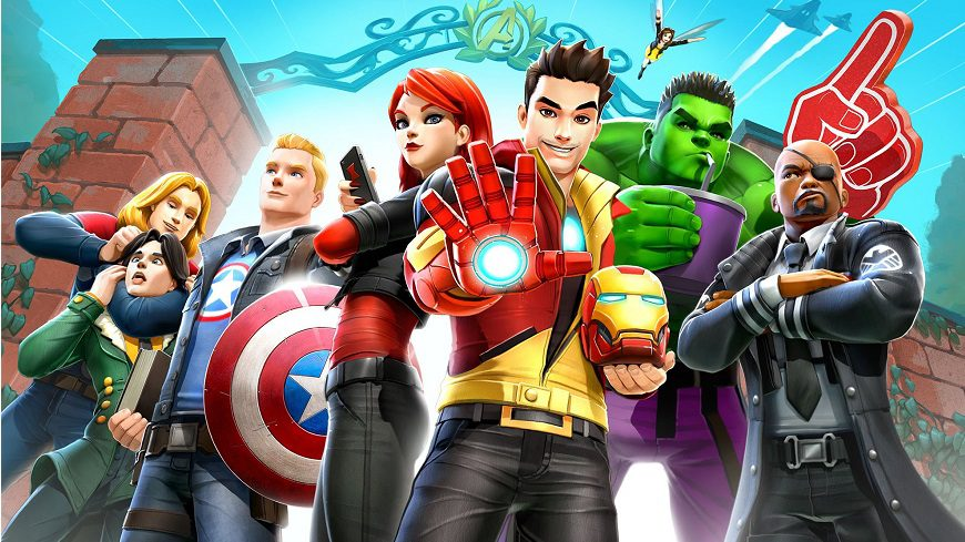 Avengers Academy cover