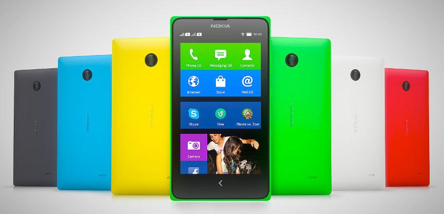 Nokia X android phones