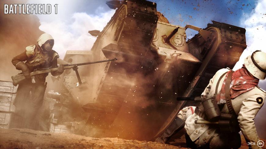battlefield-1 tank soldier