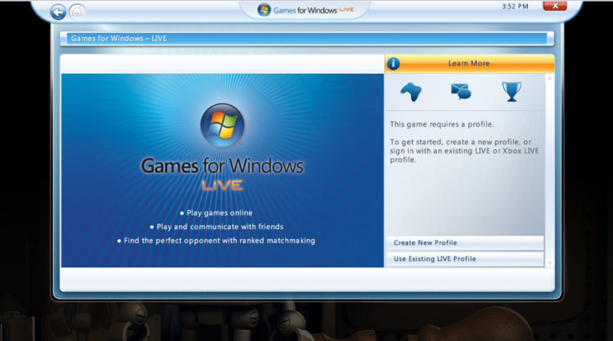 microsoft games for windows live