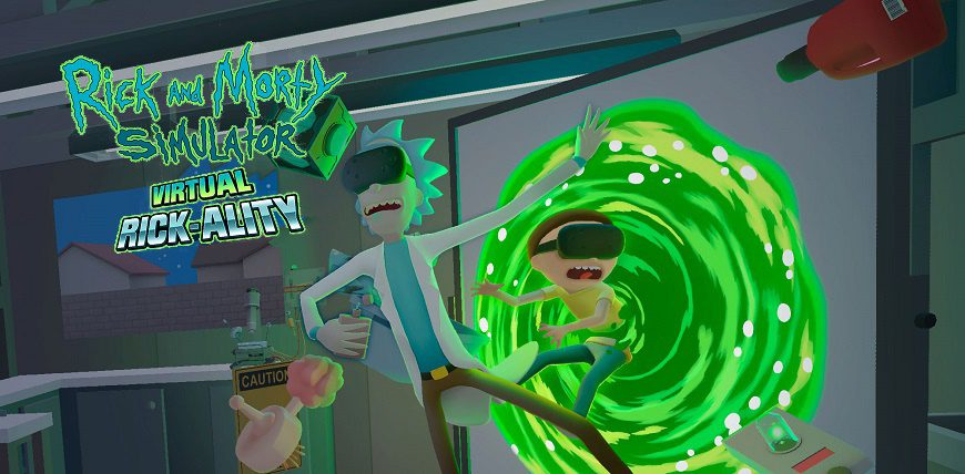 Rick and Morty VR cover