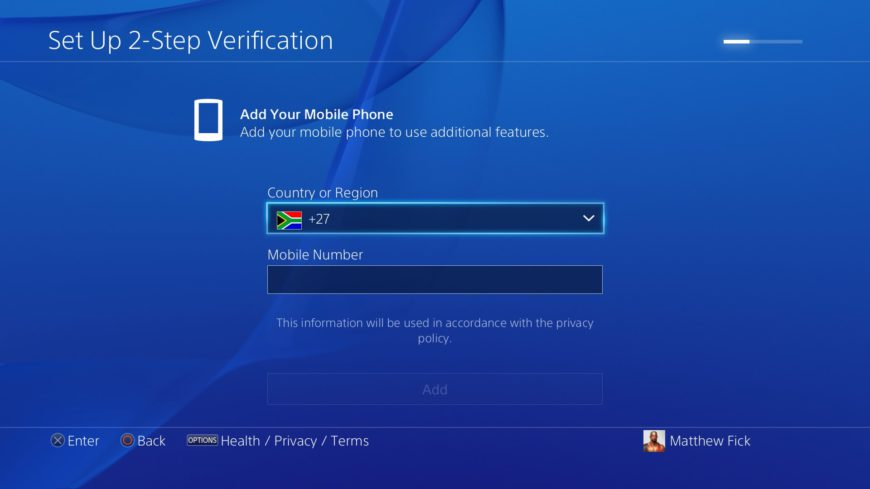 Sony two factor authentication (3)