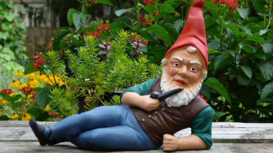 creepy gnome
