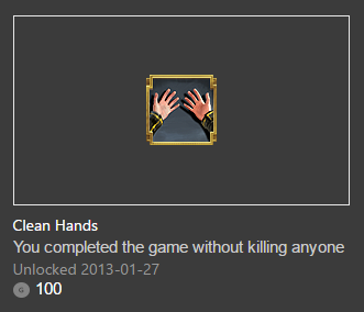 dishonored clean hands