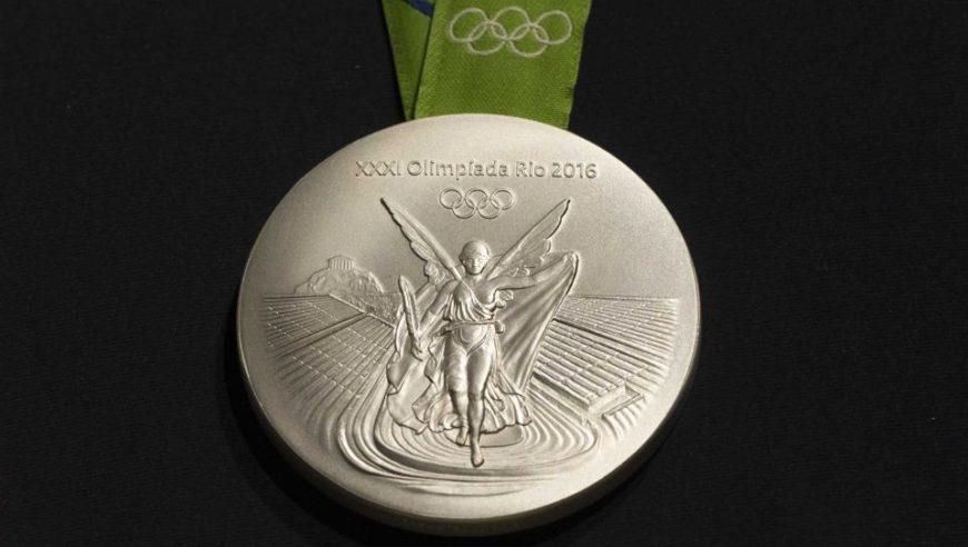 rio silver medal