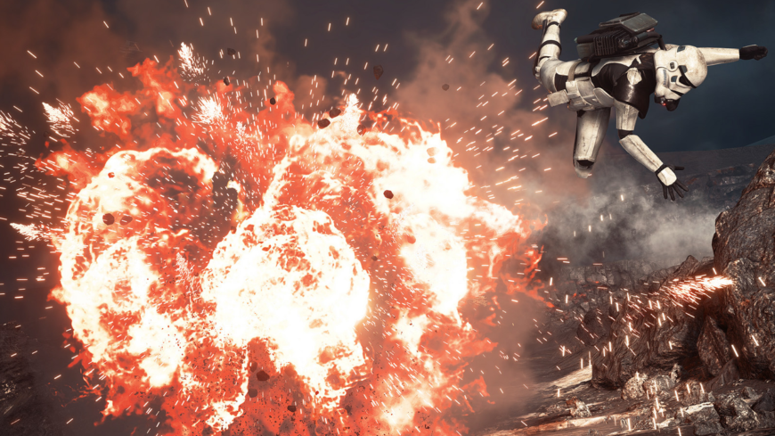 star wars explosion