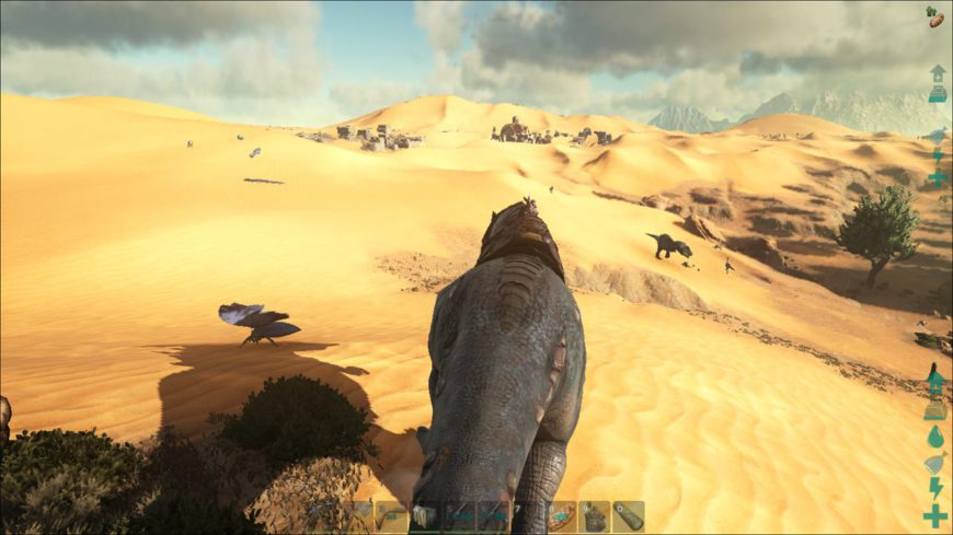 This is the brutal reality of the new desert location: out here death will find you using teeth, stingers, claws or heat.