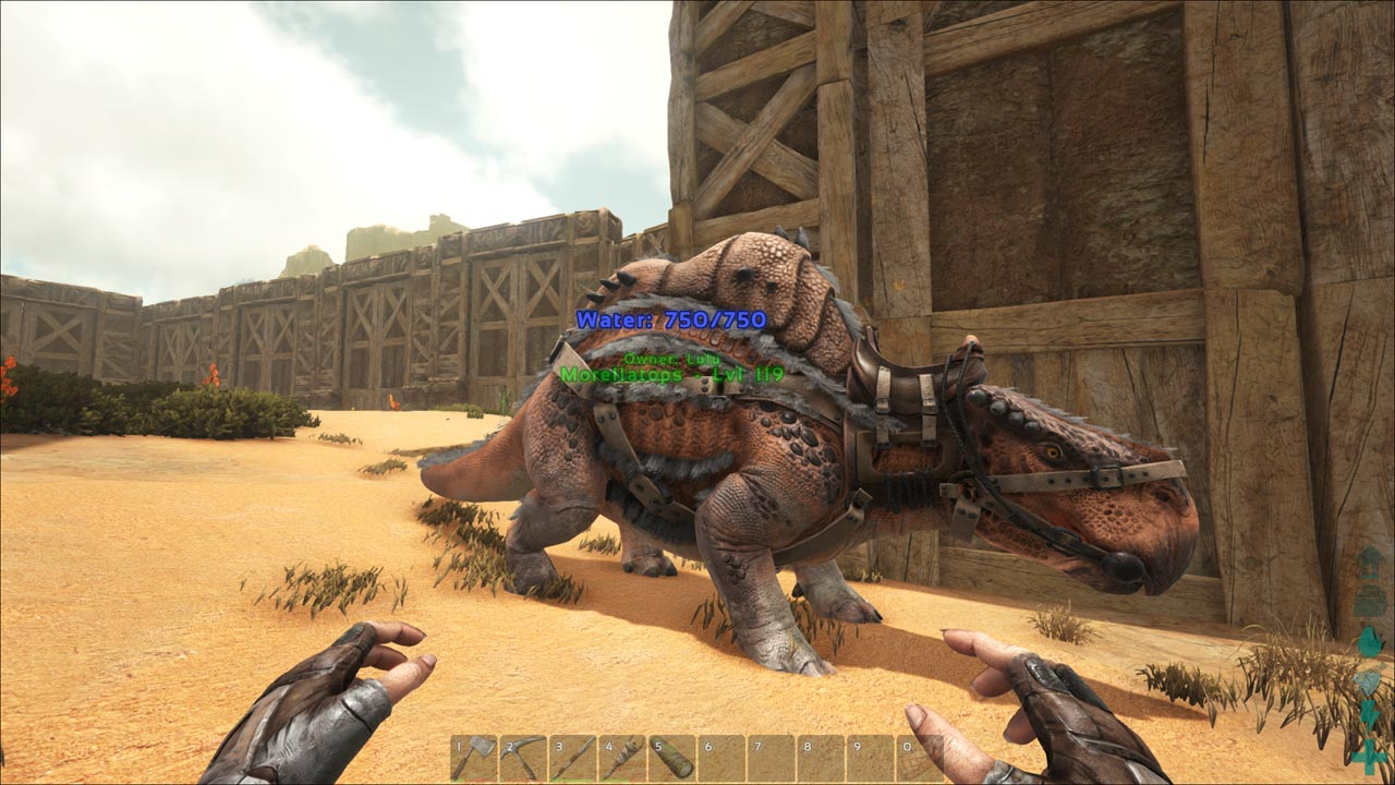 Impressions: Ark: Scorched Earth > NAG