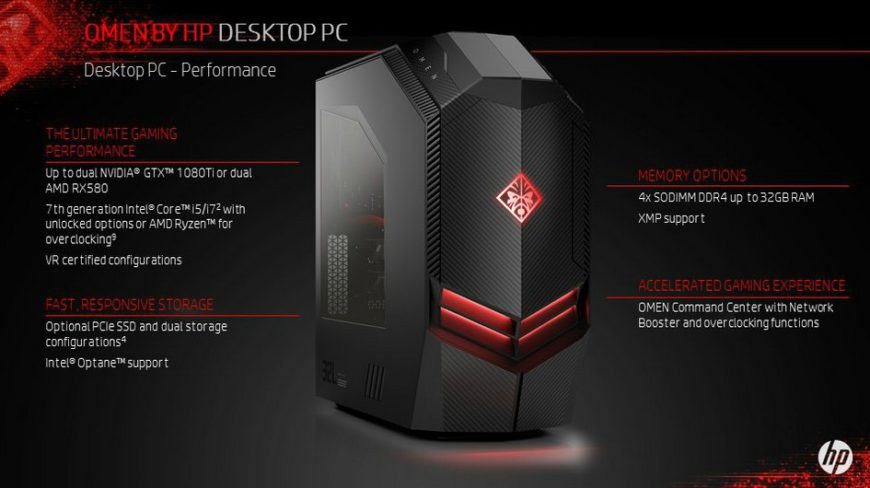 Hp Updates Its Omen Gaming Pc Lineup Nag